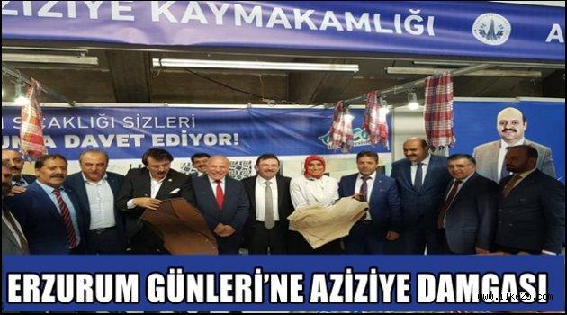 ERZURUM GÜNLERİ'NE AZİZİYE DAMGASI