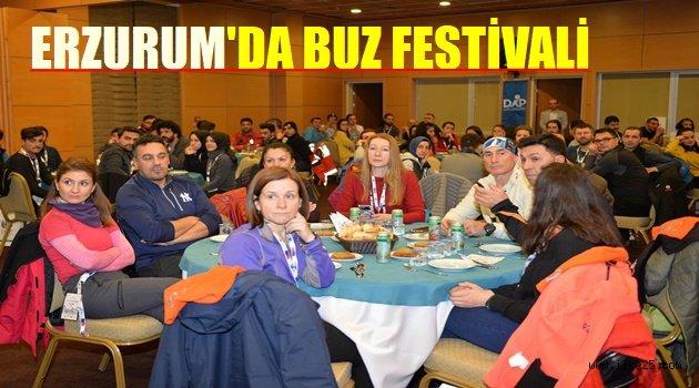 ERZURUM'DA BUZ FESTİVALİ