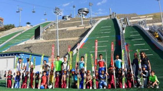 Erzurum'da Şehit Eren İçin Atladılar