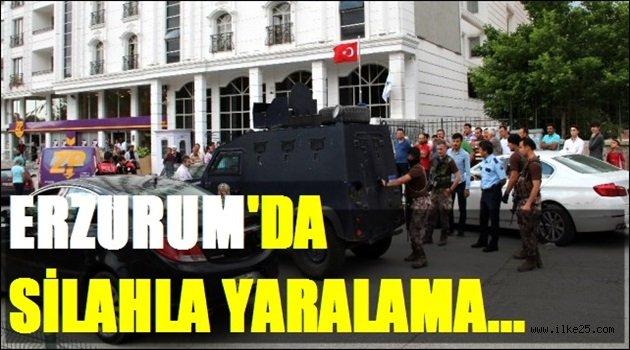 Erzurum'da Silahla Yaralama..
