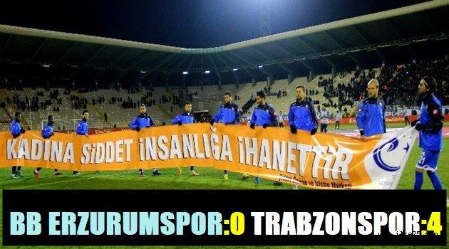 Erzurumspor 0-4 Trabzonspor