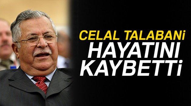 Eski Irak Cumhurbaşkanı Talabani hayatını kaybetti