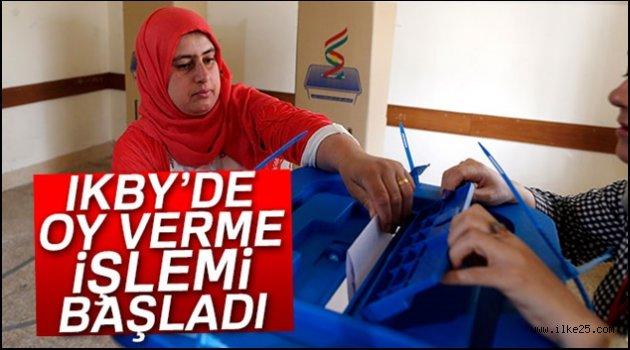 IKBY'de oy vereme işlemi başladı
