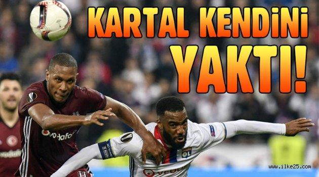 Lyon:2 Beşiktaş:1