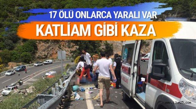 Marmaris'te Katliam Gibi Kaza!!