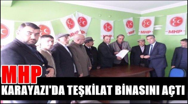 MHP Karayazı'da teşkilat binasını açtı
