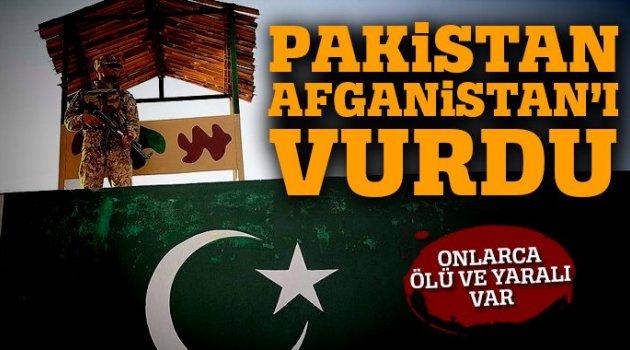 Pakistan güçleri Afganistan'ı vurdu