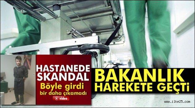 Sağlık Bakanlığı: Soruşturma başlatıldı