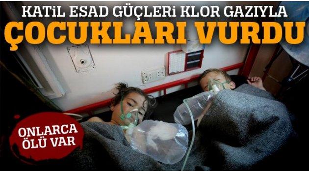 Suriye'de Kimyasal Saldırısı...