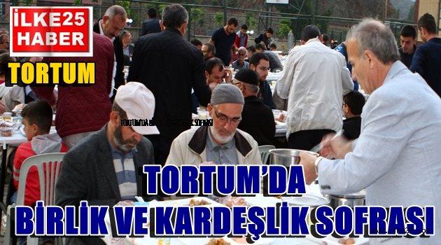 TORTUM'DA BİRLİK VE KARDEŞLİK SOFRASI