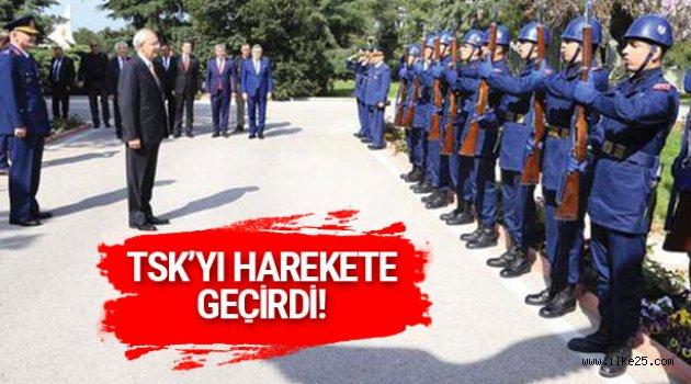 TSK'dan Kılıçdaroğlu'na mangalı karşılamayla ilgili açıklama!