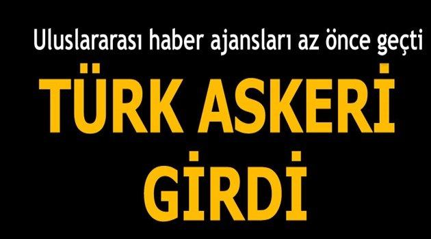 """Türk askeri El Bab'a girdi"""