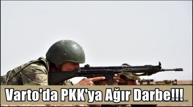 Varto'da PKK'ya Ağır Darbe!!!