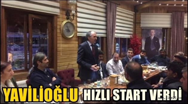 Yavilioğlu,Hızlı Start Verdi!