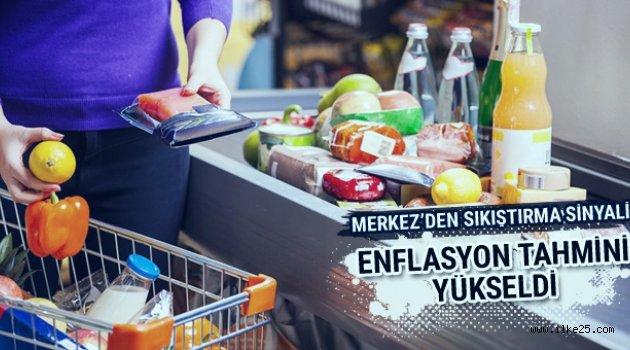 Merkez Bankası'ndan son dakika enflasyon tahmini