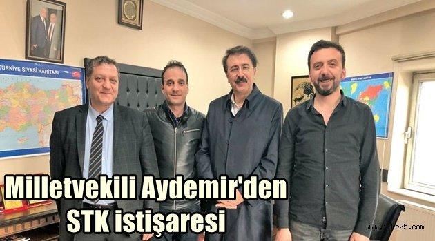 Milletvekili Aydemir'den STK istişaresi