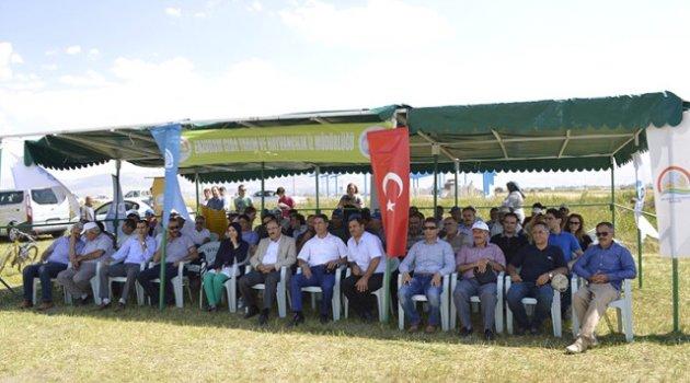 Rulo Balya Silajı İçin Aziziye'de 'Tarla Günü' Düzenlendi