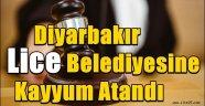 Diyarbakır Lice Belediyesine kayyum atandı
