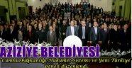 Aziziye Belediyesi Yeni Türkiye Paneli Düzenledi