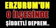 Erzurum'un O İlçesinde Şiddetli Deprem..