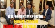 B.B. ERZURUMSPOR'DA KEMAL KILIÇ İLE YOLA DEVAM