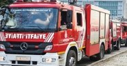 Erzurum'da Kargo Şirketinin Deposunda Yangın