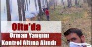 Oltu'da Orman Yangını Kontrol Altına Alındı