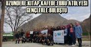 Sakin Şehir Uzundere Kitap Kafede Ebru Atölyesi Gençlerle Buluştu