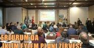 ERZURUM'DA İKLİM EYLEM PLANI ZİRVESİ