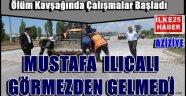 Erzurum'da Ölüm Kavşağında Çalışmalar Başladı