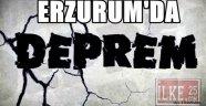 Erzurum'da Deprem!!!