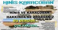 Hınıs ve Karaçoban'ın İlk Dergisi Çıkıyor..