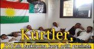 Kürtler, PYD'nin baskılarına karşı açlık grevinde