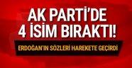 AK Parti'de 4 isim çekilme kararı aldı!