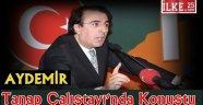 Aydemir Tanap Çalıştayı'nda Konuştu