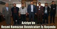 Aziziye'de Resmi Ramazan Davulcuları İş Başında