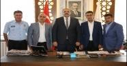 Aziziye'de sosyal denge sözleşmesi imzalandı