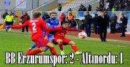 BB Erzurumspor: 2 - Altınordu: 1