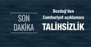 Bekir Bozdağ'dan  Cumhuriyet'e operasyon açıklaması