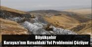 Büyükşehir Karayazı'nın Kırsaldaki Yol Problemini Çözüyor