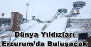 Dünya Yıldızları  Erzurum'da Buluşacak