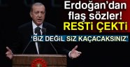 Erdoğan: AB serbest dolaşım vermedi de dünya başımıza mı yıkıldı?