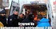 Erzurum'da karbonmonoksit zehirlenmesi: 2 ölü