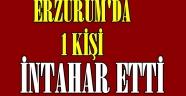 Erzurum'da İntihar!!