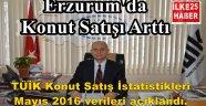 Erzurum'da Konut Satışı Arttı