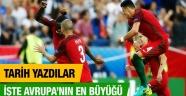 EURO 2016'da Portekiz şampiyon oldu