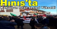 Hınıs'ta Kahrolsun İsrail Sesleri Yükseldi