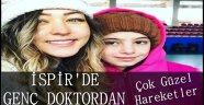 İspir'de Genç Doktordan Örnek Davranış