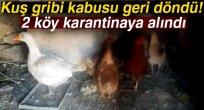 Kuş gribi kabusu geri döndü: 2 köy karantinaya alındı