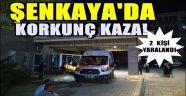 Şenkaya'da Korkunç Kaza!